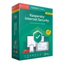 Kaspersky Internet Security 2020 3 Dispositivos 1 Año Renovación en TXETXUSOFT